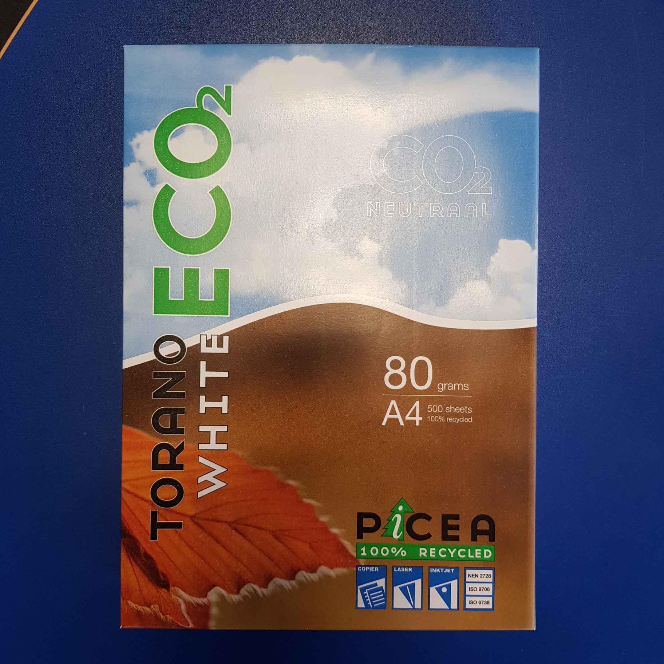 Picea papier voor printer en kopieermachine: CO2 vrij!